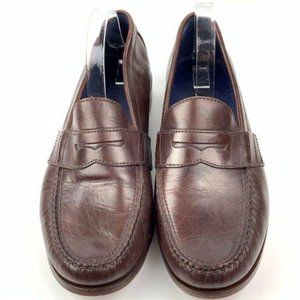 Cole Haan men Penny loafers 11 M chestnut leather